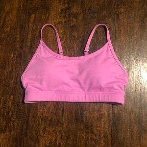 Lorna Jane Pink sports bra. Size Medium. GUC